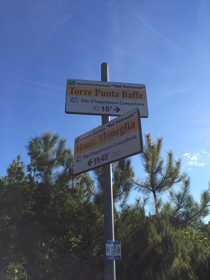 Sentiero con partenza dal Camping